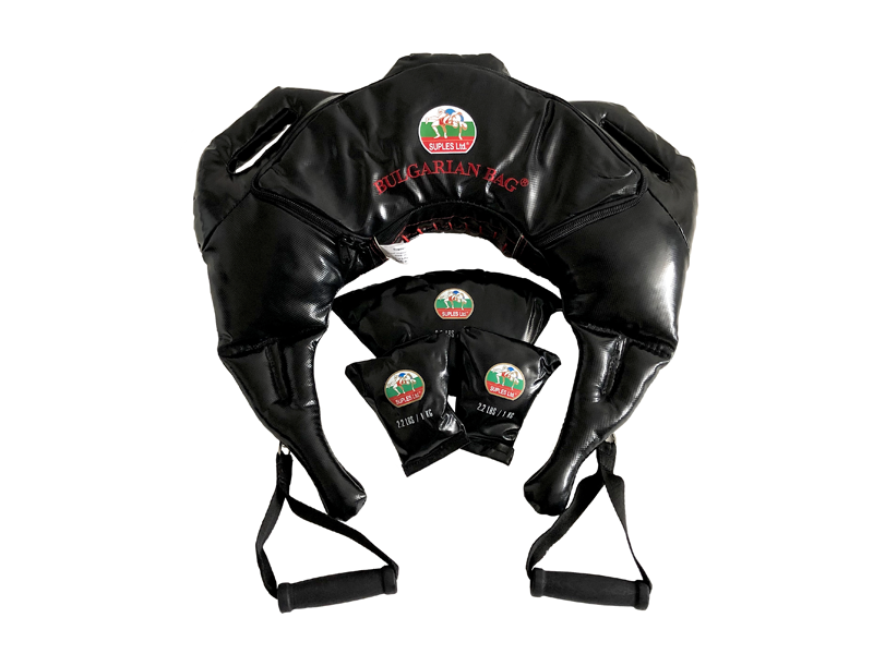 Bulgarian Bag *Suples Strong - Vinyl in Black Size L-XL