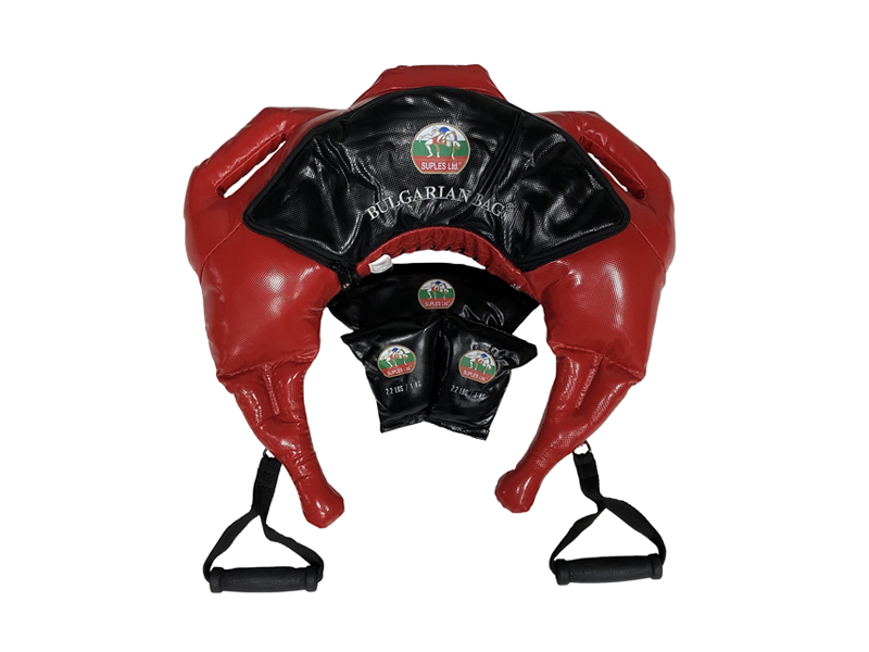 Bulgarian Bag *Suples Strong - Vinyl Size M-L Color - Red