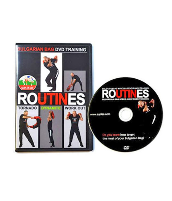 DVD: Bulgarian Bag Routines: Speed and Power, Muscular Endurance